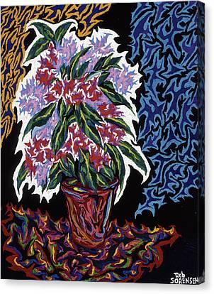 Ghost Flower Canvas Print by Robert SORENSEN