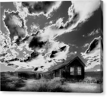 Canvas Print featuring the photograph Ghost House by Jim and Emily Bush