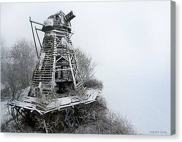 Ghost Mill Canvas Print by Robert Lacy