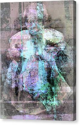 Ghost Of A Child Canvas Print