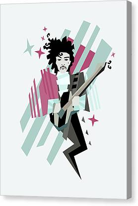 Ghost Of The Prince Canvas Print