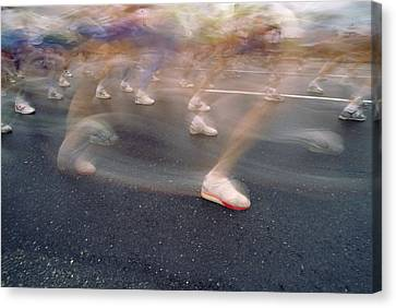 Ghost Race Canvas Print by Gerard Fritz