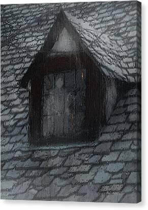 Ghost Rain Canvas Print by RC deWinter