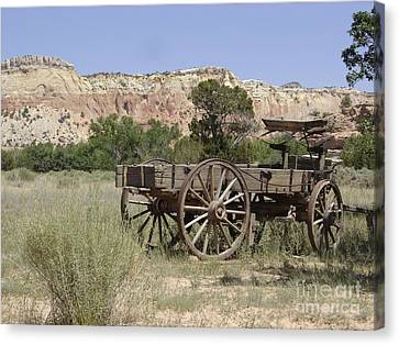 Ghost Ranch Canvas Print by Mary Rogers