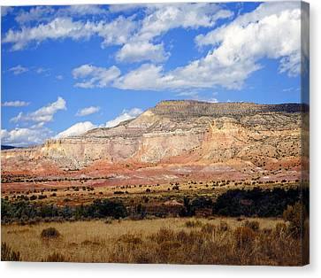 Canvas Print featuring the photograph Ghost Ranch New Mexico by Kurt Van Wagner