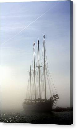 Canvas Print featuring the photograph Ghost Ship by Greg DeBeck