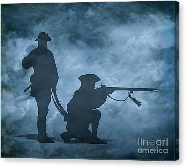 Ghost Soldiers Canvas Print by Randy Steele