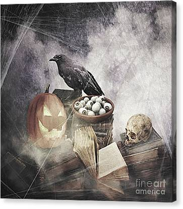 Ghost Story Canvas Print - Ghost Stories by Ulanawa Foote