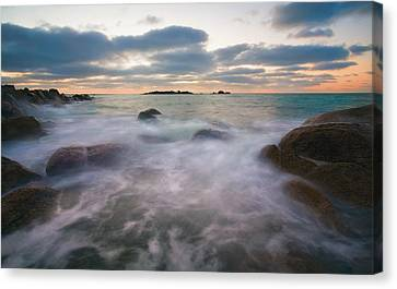 Ghost Tides Canvas Print by Mike  Dawson