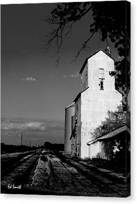 Ghost Town Canvas Print by Ed Smith