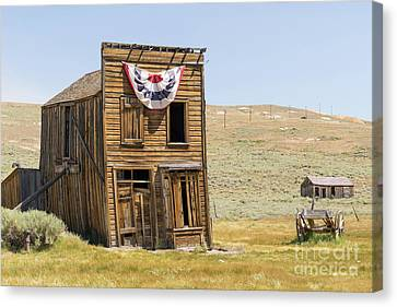Ghost Town Of Bodie California Dsc4369 Canvas Print