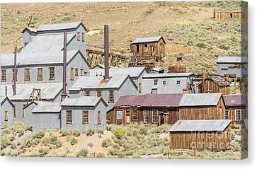 Ghost Town Of Bodie California Standard Stamp Mill Dsc4416 Canvas Print by Wingsdomain Art and Photography