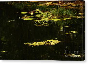 Canvas Print - Ghost Water by Kim Pate