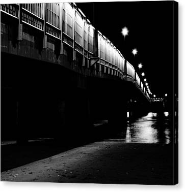 Ghostlights Canvas Print