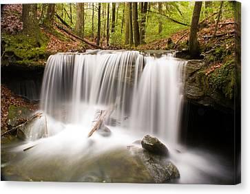 Ghostly Waterfall Canvas Print by Douglas Barnett