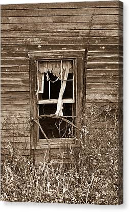 Ghostly Window Canvas Print by Douglas Barnett