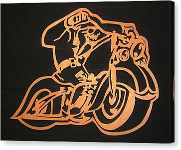 Ghostrider Canvas Print