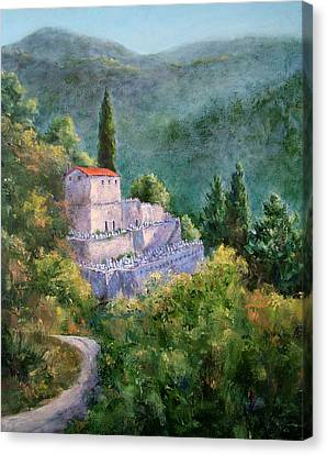 Ghosts Of The Peloponnese Canvas Print