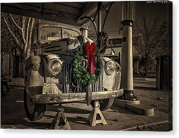 Ghosts Of Xmas Past Canvas Print