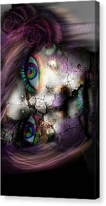 Ghoulish Canvas Print by Brittany Perez