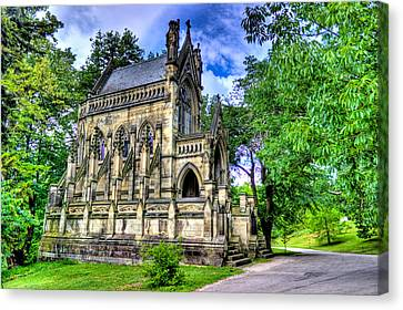 Giant Spring Grove Mausoleum Canvas Print