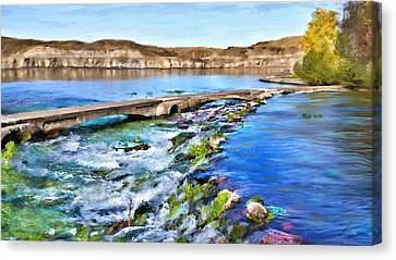 Giant Springs 3 Canvas Print by Susan Kinney