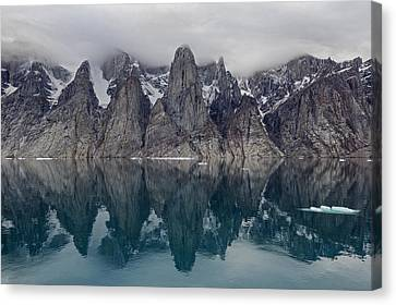 Sillem Canvas Print - Gibbs Fiord by Tony Beck