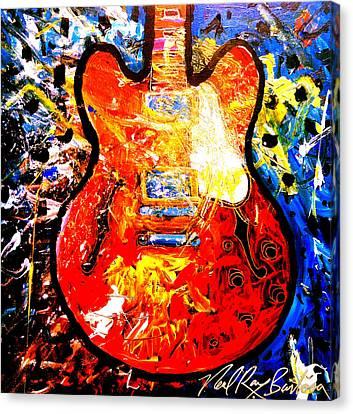 gibson ES-335 Canvas Print