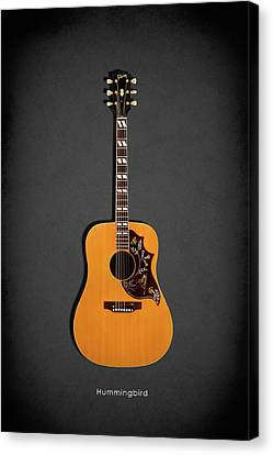 Gibson Hummingbird 1968 Canvas Print by Mark Rogan