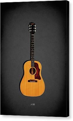 Gibson J-50 1967 Canvas Print by Mark Rogan