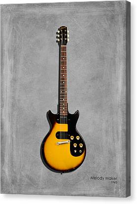 Gibson Meldoy Maker 1962 Canvas Print by Mark Rogan