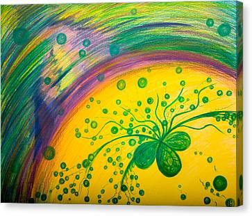 Gift Canvas Print by Elena Soldatkina