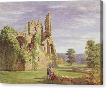 Gight Castle, 1851 Canvas Print by James Giles