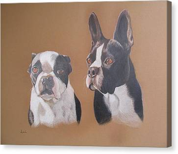 Gilbert And Ellis Canvas Print