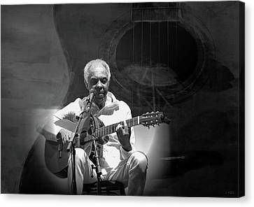 Gilberto Gil Canvas Print