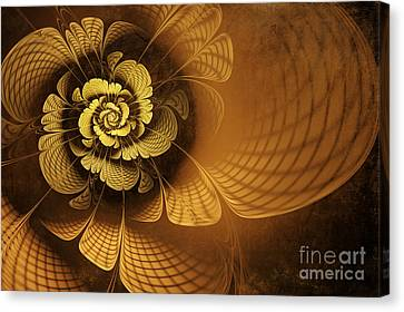 Gilded Flower Canvas Print by John Edwards