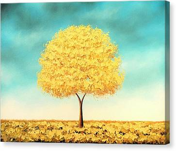 Gilded Memories Canvas Print by Rachel Bingaman