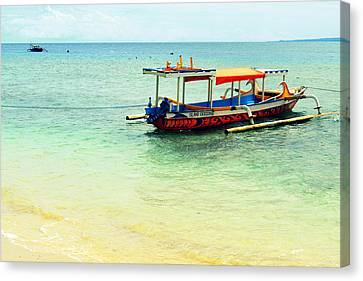 Gili Air Canvas Print by Shawna Gibson