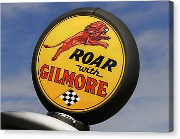 Gilmore Gas Globe Canvas Print by Mike McGlothlen