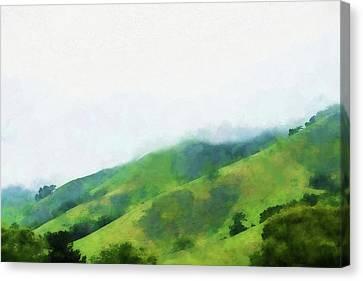 Gilroy Hills Canvas Print