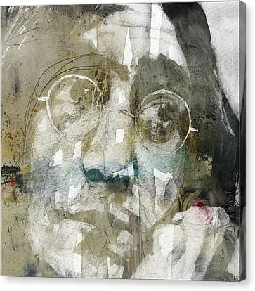 Gimme Some Truth  Canvas Print by Paul Lovering