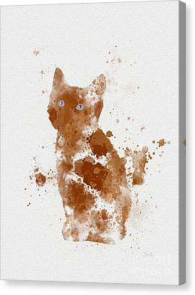 Ginger Kitten Canvas Print