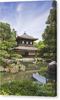Ginkakuji Temple Canvas Print by Rob Tilley