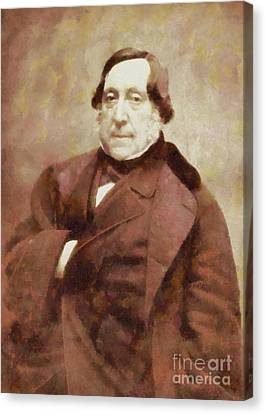 Gioacchino Rossini, Composer By Sarah Kirk Canvas Print