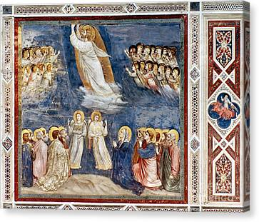 Giotto: Ascension Canvas Print by Granger