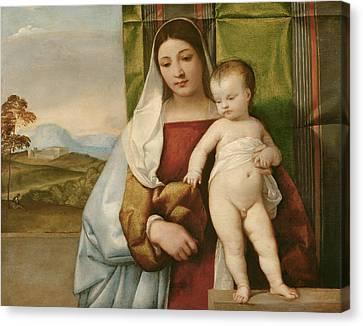 Gipsy Madonna Canvas Print