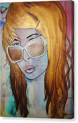 Girl 16 Canvas Print