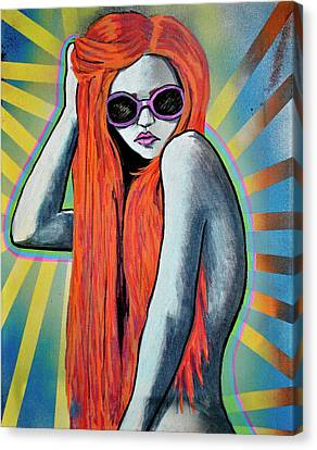 Girl 25 Canvas Print