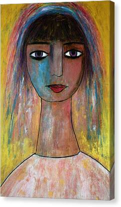 Girl From India.. Canvas Print
