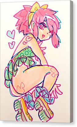 Girl01 Canvas Print